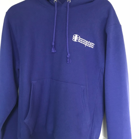 ee5fffc23e08 Champion Tops - Royal blue Champion hoodie